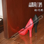 Free shipping 2pc/lot Foot in the door high-heel door stopper rubber door wedge Doorstops