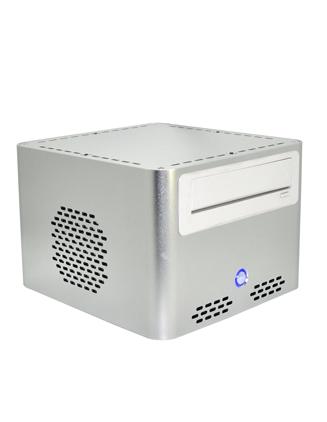 ITX Mini PC Deskop Computer mute htpc e-mini q7 silver desktop optical drive desktop hard drive(China (Mainland))