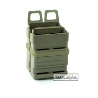 Foliage Airsoft Tactical Rifle Fast Attach 5.56 Mag Magazine Holder Molle System free ship