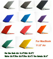 "Case for Apple Laptop,Rubberized Hard Cover For Mac Book Air 11.6""/Air 13.3""/White 13.3""/Pro 13.3""/Pro 15.4""/ Pro Retain 15.4"""