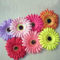 Strawhat cul-de-lampe flower headband clip hair accessory