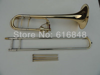 The manufacturer   Wholesale - tapered trombone Edward in B flat surface gold