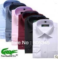 Hot new Normandy crocodile senior men's shirts men long sleeve business casual shirt men's men's shirts
