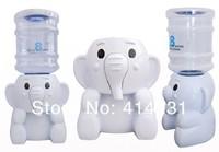 Elephant Mini Desktop Water Dispenser 8 Glasses Cartoon Water Dispenser Water Fountain For Office Lady Free Shipping