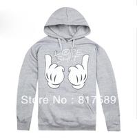 wholesale&retail  NEW 2013  Men's hoodie , brand name hoodies, fashion hoodies , cotton hoodies SIZE:M-XXL Free shipping