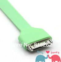 1pcs 3M special USB color data line for Charging/Noodles line free shipping,wholesale and retail
