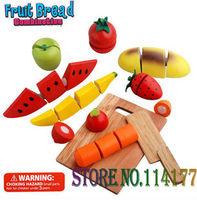 Fruit bread wooden toy