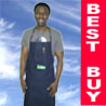 Blue Jeans Denim Bib Work Shop Kitchen Adult Apron #B