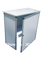 promotion table with door