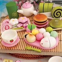 Mother Garden Strawberry Endulge Afternoon Tea Strawberry Green Qieqie Look Wooden Toys Free Shipping