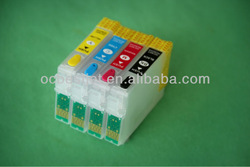 New arrival! Best quality compatible for Epson XP-205 refillable ink cartridge(China (Mainland))