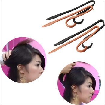 Fashion Hairpin Hair Clip Updo Headwear Twist Jumbo Clips Hairstyle Making for Girls Ladies
