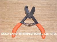 L14cm  Free shipping 10pcs/lot mix color random send  pruning shears garden scissor orange shear