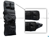 Heavy Duty Black 85cm Rifle Gun Slip Bag FG-03-BK free ship
