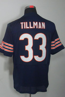 cheap jersey-Free Shipping #33 Charles Tillman Men's Elite Team Navy Football Jerseys
