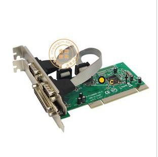 2PCS LOT Parallel + two serial PCI riser card+ free shipping(China (Mainland))