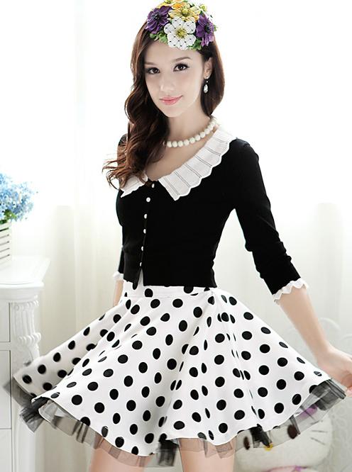 2013 chegada nova moda feminina laco de babados mini saia meninas ...