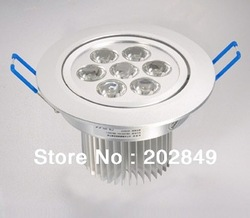 wholesale Dimmable 220v 10pieces/lot 1w 3w 5w 7w 9w 12w 15w led ceiling light 2year warranty led indoor spotlight+free shipping(China (Mainland))