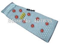 Free Shipping! New Arrival Luxury  Seven Modes Vibration Heating function Massage Mattress  Full Body Massager Cushion