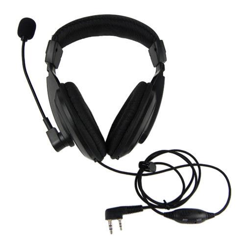 10pcs VOX Headset Earpiece For KENWOOD WOUXUN QANSHENG PUXING BFUV5R H555 TYT Radio walkie talkie NEW C0134A Alishow(China (Mainland))