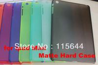 New Hot Hard Clear Transparent Plastic Back Case Cover Skin For Apple ipad Mini 300pcs/lot Free Shipping