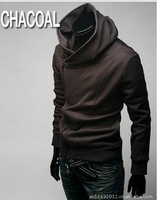 Free shipping Top sale High Collar Men's Jacket ,Men's Dust Coat Hoodies Clothes M L XL XXL XXXL