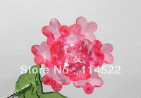 blue flower home decoration Modern fashion european crystal flowers artificial flowers wholesale & retail 10pcs/lot A03-A9