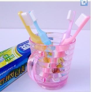 Children's toothbrush Oor modelling pen spongebob cartoon ball-point pen