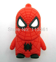 evil spider man 4GB 8GB 16GB 32GB Catoon USB 2.0 Flash Memory Stick Pen Drive  Thumbdrive U Disk Storage Device,Free Delivery