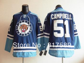 wholesale hockey jerseys Florida Panthers #51 Campbell blue    hockey jerseys  Mix Order