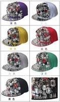 Retail NEW 2014 Super COOL Snapback Women Hats Baseball Hat Men Snapbacks Men Visor Cap Mens Caps Hip Pop Imitation Metal Sport