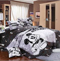 Free shipping! mickey mouse minnie mouse 4pcs comforter bedding set queen size doona duvet covers/100% cotton printing 1180