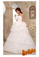 Love wedding flower bow bride wedding 2013 sweet princess wedding dress