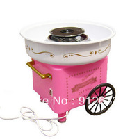 cotton candy machine cart,  household mini cotton candy maker
