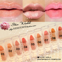 Min.order is $5 (mix order) Sexy nude makeup nude incarcerators orange mini small-sample lipstick