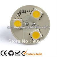 Low cost 3 SMD5050 AC/DC10-25V 0.5W G4 light