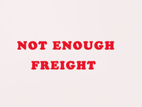 The postage not enough freight only accept wholesale