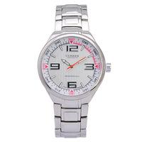 fashion Free shipping!! Quality Brand watches CURREN 8042 Luxury Quartz Watch with Sub-dials/Calendar- golden  round