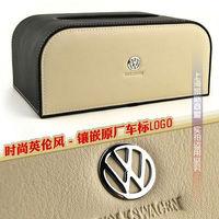 Free shipping Cortical British Style Volkswagen Lavida/Tiguan/Magotan/Passat Car Tissue Box Christmas