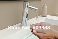 Cold Mixer Automatic Hand Touch Free Sensor Faucet Bathroom Sink Tap Vessel Faucet Mixer L-0151