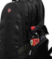 Large capacity ! swiss gear backpack laptop bag notebook bag 14 15 17 male women's backpack
