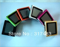 best quality and low price  ,Fashion 6th touch screen 8GB MP4 Player+earphone+usb cable,10pcs/lot,free shipping