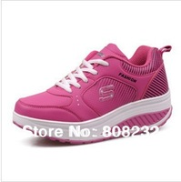 Casual elevator sport shoes breathable platform slimming shoes women Fast Free Shipping by Swiss Or FiJi Post Air Mail