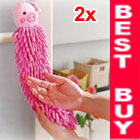 2 Bathroom Kitchen Car Piglet Hand Dish Drying Cleaning Washcloths Wipes Towels(China (Mainland))