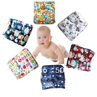 Free Shipping (50 pieces /lot) Waterproof PUL Babyland Baby Printed Washable Cloth Diaper