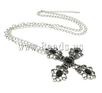 New Arrival Cross Necklace Fashion Jewelry Necklace antique silver color Factory Price Free Shipping
