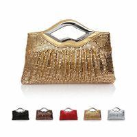 Fashion Women's clutch Paillette Sparkle Spangle lip decorate women clutch bags shoulder bag evening bag for party