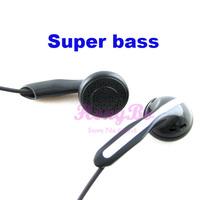 Freeshipping Super bass in ear earphones mp3 mp4 mobile phone computer general headphone bass high-qaulity headset