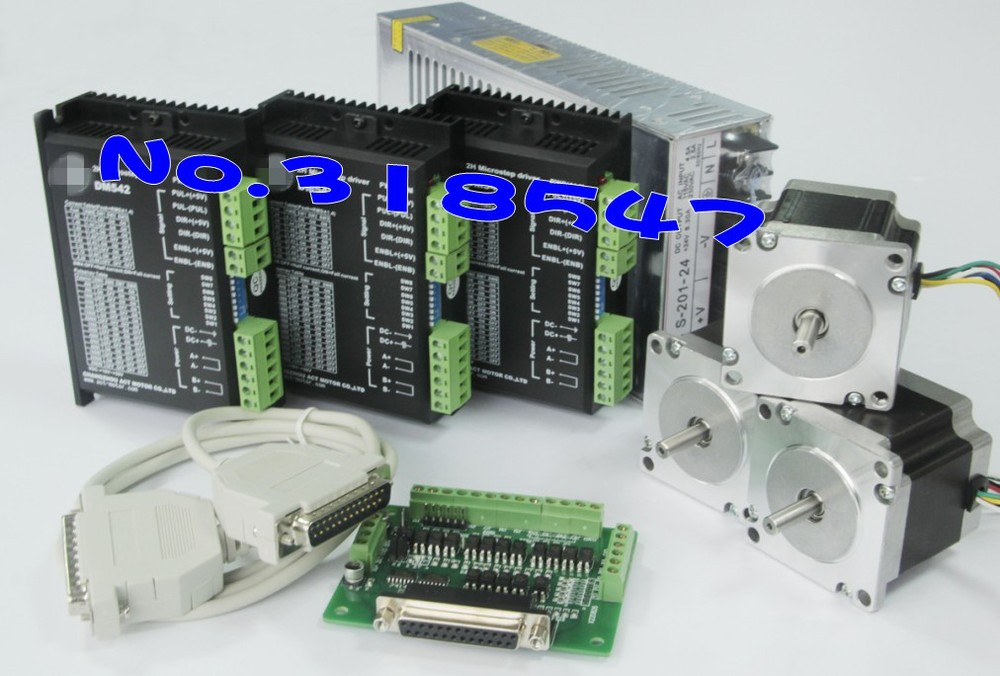 Best Selling! 3Axis Nema23 23HS8430D8 stepper motor 270ozin 1.9N.M 76MM 3.0A CEISORoHSLaser Grind Foam Plasma Cut(China (Mainland))