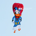 New kite soft huge 3m single parafoil Donald Duck kite free shipping